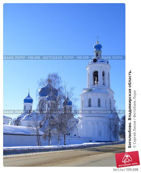 Купить «Боголюбово. Владимирская область.», фото № 109698, снято 16 февраля 2007 г. (c) Сергей Лисов / Фотобанк Лори