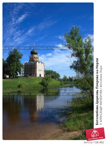 Купить «Боголюбово.Церковь Покрова на Нерли», фото № 126462, снято 2 июня 2007 г. (c) АЛЕКСАНДР МИХЕИЧЕВ / Фотобанк Лори