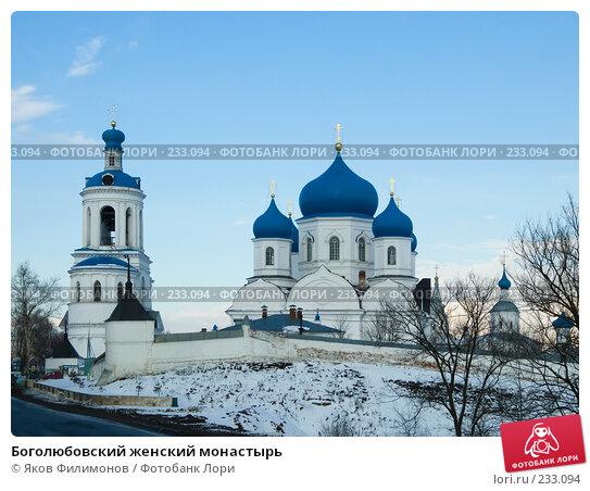 Боголюбовский женский монастырь, фото № 233094, снято 21 марта 2008 г. (c) Яков Филимонов / Фотобанк Лори