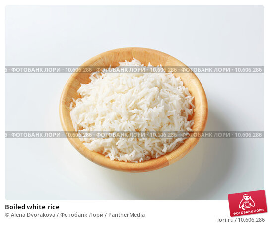 Boiled white rice . Стоковое фото, фотограф Alena Dvorakova / PantherMedia / Фотобанк Лори