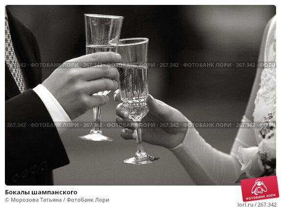 Бокалы шампанского, фото № 267342, снято 9 сентября 2006 г. (c) Морозова Татьяна / Фотобанк Лори