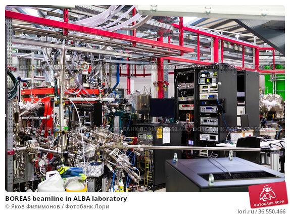 BOREAS beamline in ALBA laboratory (2019 год). Редакционное фото, фотограф Яков Филимонов / Фотобанк Лори