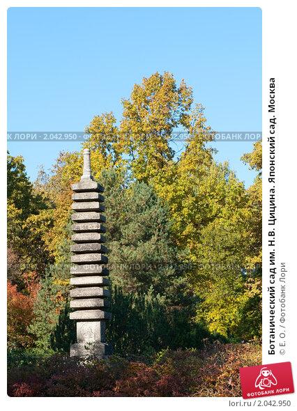 Ботанический сад им. Н.В. Цицина. Японский сад. Москва ...: http://lori.ru/2042950