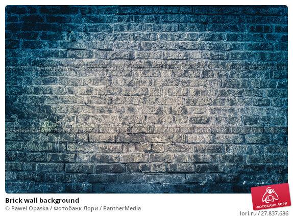 Купить «Brick wall background», фото № 27837686, снято 16 октября 2018 г. (c) PantherMedia / Фотобанк Лори