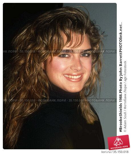 #BrookeShields 1988.Photo By John BarrettPHOTOlink.net.. Редакционное фото, фотограф Adam Scull / age Fotostock / Фотобанк Лори