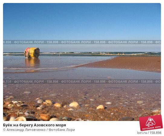 Буёк на берегу Азовского моря, фото № 158898, снято 19 сентября 2007 г. (c) Александр Литовченко / Фотобанк Лори
