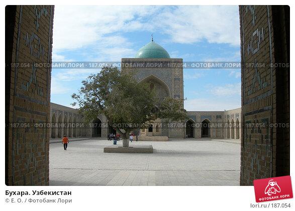 Купить «Бухара. Узбекистан», фото № 187054, снято 14 октября 2006 г. (c) Екатерина Овсянникова / Фотобанк Лори