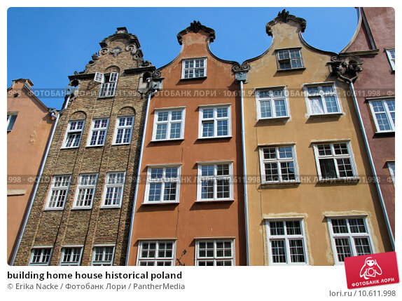 building home house historical poland. Стоковое фото, фотограф Erika Nacke / PantherMedia / Фотобанк Лори