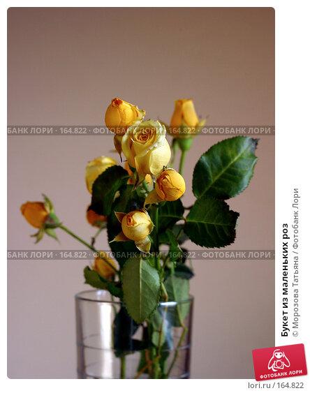 Букет из маленьких роз, фото № 164822, снято 25 октября 2005 г. (c) Морозова Татьяна / Фотобанк Лори
