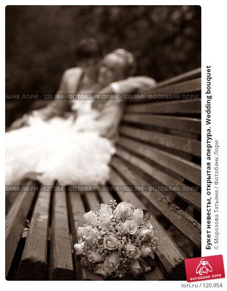 Букет невесты, открытая апертура. Wedding bouquet, фото № 120954, снято 8 сентября 2007 г. (c) Морозова Татьяна / Фотобанк Лори