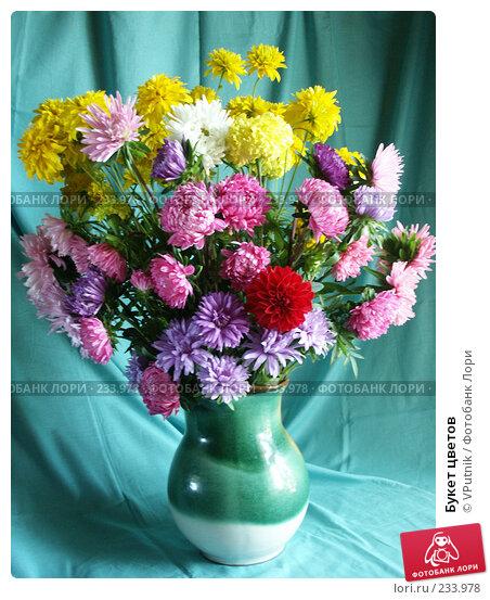 Букет цветов, фото № 233978, снято 31 августа 2004 г. (c) VPutnik / Фотобанк Лори