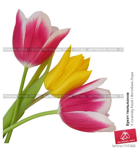 Букет тюльпанов, фото № 117022, снято 9 марта 2006 г. (c) Losevsky Pavel / Фотобанк Лори