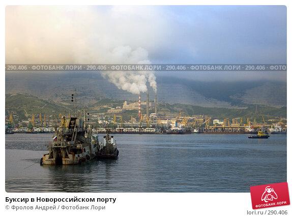 Буксир в Новороссийском порту, фото № 290406, снято 16 мая 2008 г. (c) Фролов Андрей / Фотобанк Лори