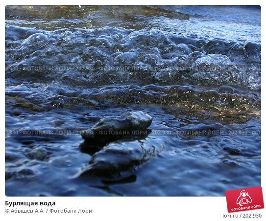 Бурлящая вода, фото № 202930, снято 9 июля 2006 г. (c) Абышев А.А. / Фотобанк Лори
