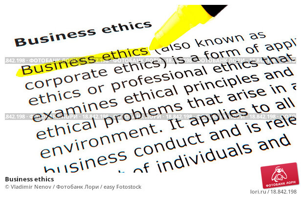 an examination of ethics in business