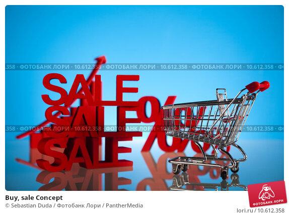 Buy, sale Concept. Стоковое фото, фотограф Sebastian Duda / PantherMedia / Фотобанк Лори