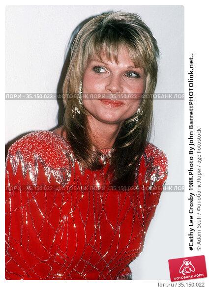 #Cathy Lee Crosby 1988.Photo By John BarrettPHOTOlink.net.. Редакционное фото, фотограф Adam Scull / age Fotostock / Фотобанк Лори