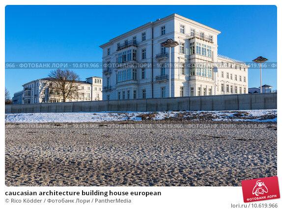 caucasian architecture building house european. Стоковое фото, фотограф Rico Ködder / PantherMedia / Фотобанк Лори