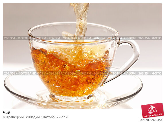Чай, фото № 266354, снято 8 декабря 2005 г. (c) Кравецкий Геннадий / Фотобанк Лори