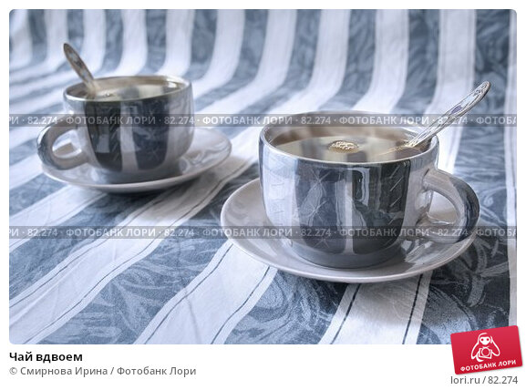 Чай вдвоем, фото № 82274, снято 24 сентября 2017 г. (c) Смирнова Ирина / Фотобанк Лори