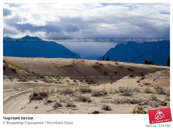 Чарские пески, фото № 114150, снято 24 августа 2006 г. (c) Владимир Горощенко / Фотобанк Лори