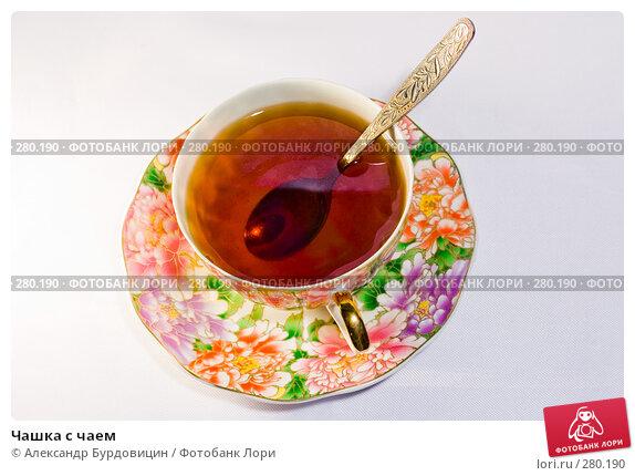 Чашка с чаем, фото № 280190, снято 11 мая 2008 г. (c) Александр Бурдовицин / Фотобанк Лори