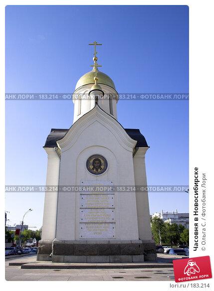 Часовня в Новосибирске, фото № 183214, снято 20 января 2017 г. (c) Ольга С. / Фотобанк Лори