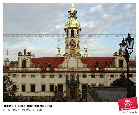 Чехия, Прага, костел Лорета, фото № 12466, снято 9 февраля 2006 г. (c) Paul Bee / Фотобанк Лори