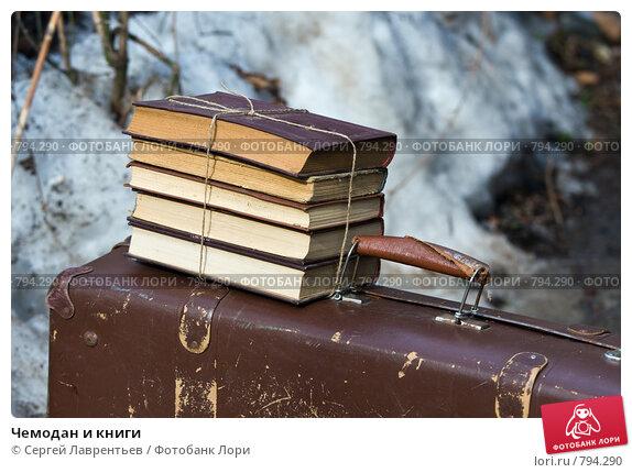 Чемодан и книги, фото № 794290, снято 29 марта 2009 г. (c) Сергей Лаврентьев / Фотобанк Лори