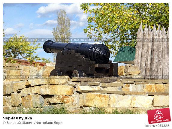 Черная пушка, фото № 253866, снято 17 сентября 2007 г. (c) Валерий Шанин / Фотобанк Лори
