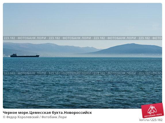 Черное море.Цемесская бухта.Новороссийск, фото № 223182, снято 12 марта 2008 г. (c) Федор Королевский / Фотобанк Лори