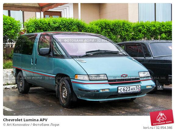 Chevrolet Lumina APV (2013 год). Редакционное фото, фотограф Art Konovalov / Фотобанк Лори