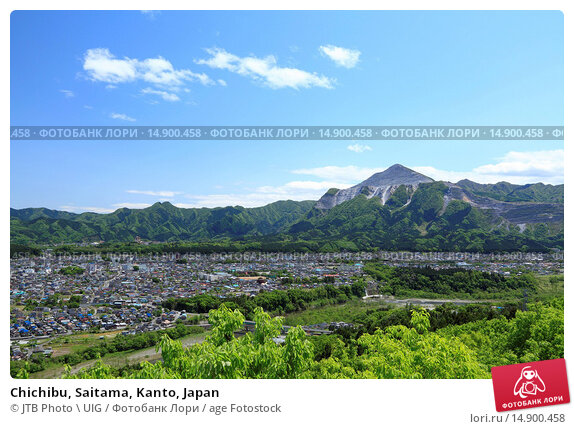 Купить «Chichibu, Saitama, Kanto, Japan», фото № 14900458, снято 21 июня 2018 г. (c) age Fotostock / Фотобанк Лори