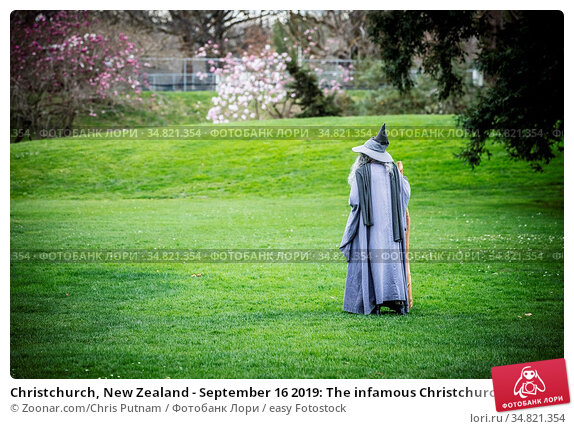 Christchurch, New Zealand - September 16 2019: The infamous Christchurch... Стоковое фото, фотограф Zoonar.com/Chris Putnam / easy Fotostock / Фотобанк Лори