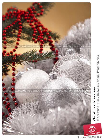 Christmas decoration . Стоковое фото, фотограф Sebastian Duda / PantherMedia / Фотобанк Лори