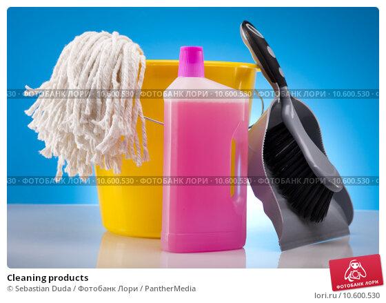 Cleaning products. Стоковое фото, фотограф Sebastian Duda / PantherMedia / Фотобанк Лори