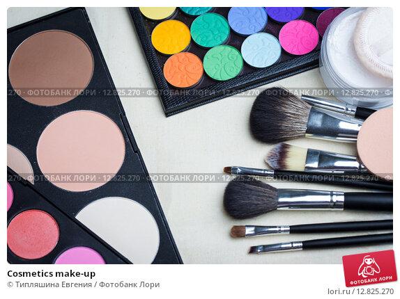 Купить «Cosmetics make-up», фото № 12825270, снято 30 сентября 2015 г. (c) Типляшина Евгения / Фотобанк Лори