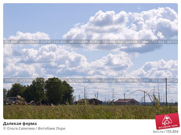 Далекая ферма, фото № 155854, снято 20 июня 2007 г. (c) Ольга Сапегина / Фотобанк Лори