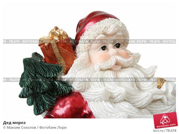 Купить «Дед мороз», фото № 78674, снято 27 июля 2007 г. (c) Максим Соколов / Фотобанк Лори