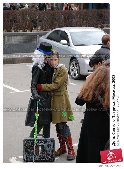 День Святого Патрика, Москва, 2008, эксклюзивное фото № 225246, снято 16 марта 2008 г. (c) Alexei Tavix / Фотобанк Лори