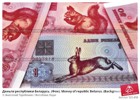 Деньги республики Беларусь. (Фон). Money of republic Belarus. (Background)., фото № 121418, снято 18 ноября 2007 г. (c) Анатолий Теребенин / Фотобанк Лори