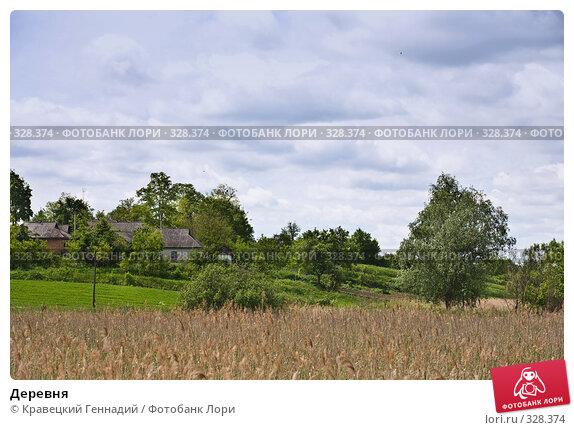 Деревня, фото № 328374, снято 1 июня 2006 г. (c) Кравецкий Геннадий / Фотобанк Лори