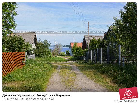 Деревня Чуралахта. Республика Карелия (2018 год). Стоковое фото, фотограф Дмитрий Шишков / Фотобанк Лори