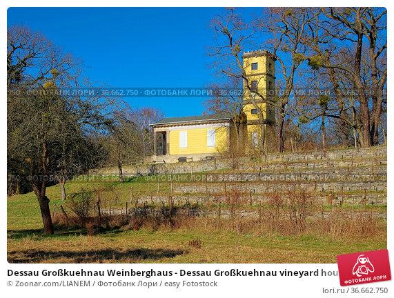 Dessau Großkuehnau Weinberghaus - Dessau Großkuehnau vineyard house 02. Стоковое фото, фотограф Zoonar.com/LIANEM / easy Fotostock / Фотобанк Лори