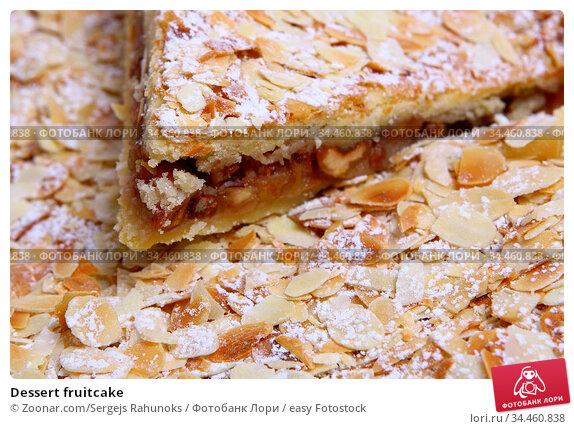 Dessert fruitcake. Стоковое фото, фотограф Zoonar.com/Sergejs Rahunoks / easy Fotostock / Фотобанк Лори