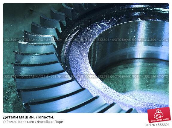 Детали машин. Лопасти., фото № 332394, снято 9 ноября 2007 г. (c) Роман Коротаев / Фотобанк Лори