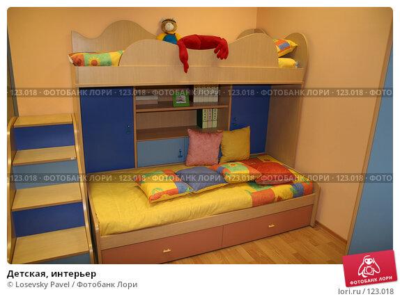 Детская, интерьер, фото № 123018, снято 24 марта 2006 г. (c) Losevsky Pavel / Фотобанк Лори