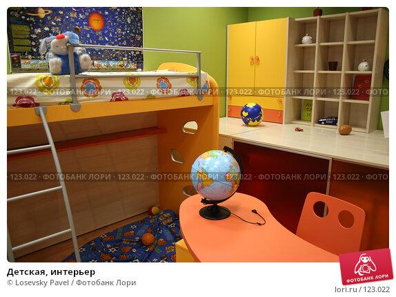 Детская, интерьер, фото № 123022, снято 24 марта 2006 г. (c) Losevsky Pavel / Фотобанк Лори