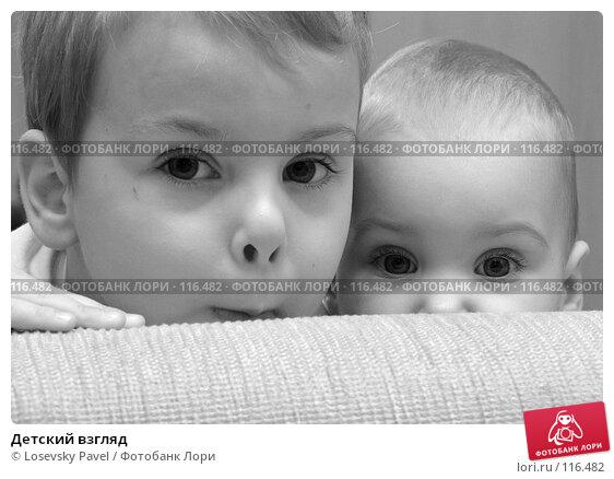 Купить «Детский взгляд», фото № 116482, снято 6 декабря 2005 г. (c) Losevsky Pavel / Фотобанк Лори