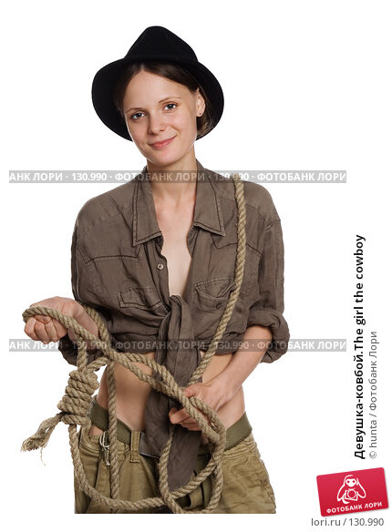Девушка-ковбой.The girl the cowboy, фото № 130990, снято 18 июля 2007 г. (c) hunta / Фотобанк Лори